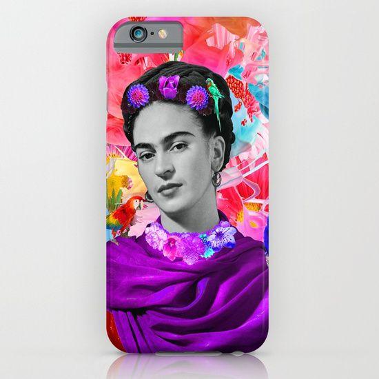 #iphone #case #tapestry #wall #art #homedecor #interiordesign #kids #painting #woman #frida #fashion #popart #buyart https://society6.com/product/freeda-enk_iphone-case