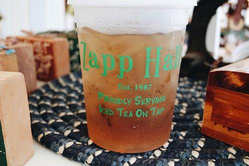 Giant Tea from Zapp Hall @ Texas Antiques Week in Warrenton