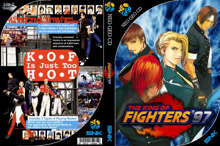 The King Of Fighters '97 - Custom Cover