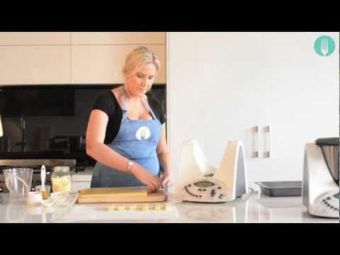 (99) Thermomix Cookbook author alyce alexandra's Polenta Chips - YouTube