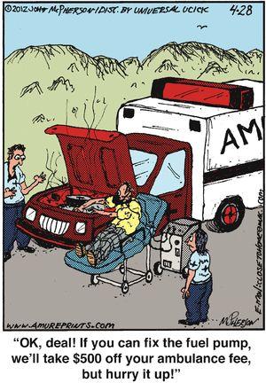 ambulance fee
