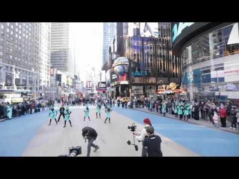 Liberty Tax and Chris Richardson NYC Flashmob- Happy Birthday Statue of Liberty Oct. 28-2011