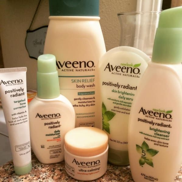 """I have super-sensitive skin, and if I use a product that has salicylic acid in it my face just flares up and dries out really bad. I use Aveeno Positively Radiant Face Wash and Moisturizer, and they're amazing!"" —clairee452007b95Get it on Amazon for $4.32."