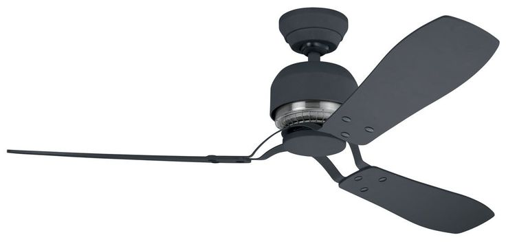 Hunter+Ceiling+Fan+-+Industrie+II+132cm/52'+-+Graphite+with+Graphite+and+Medium+Cherry+Switch+Blades