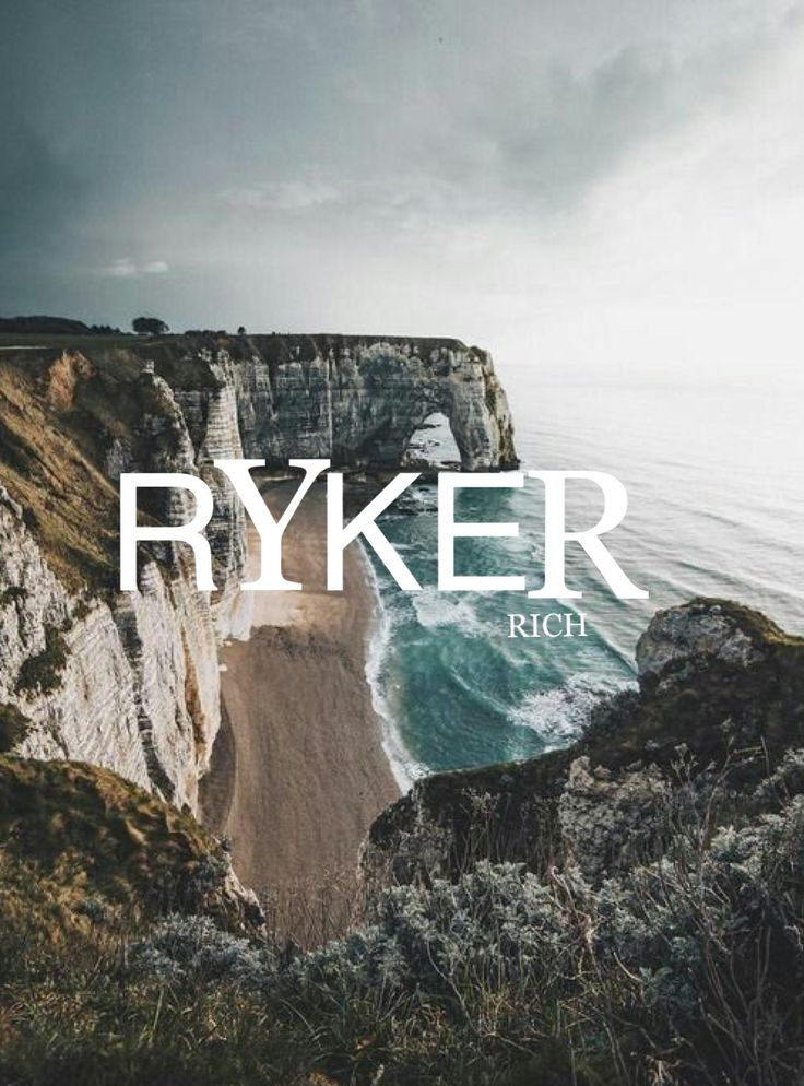 Boy Name: Ryker. Meaning: Rich
