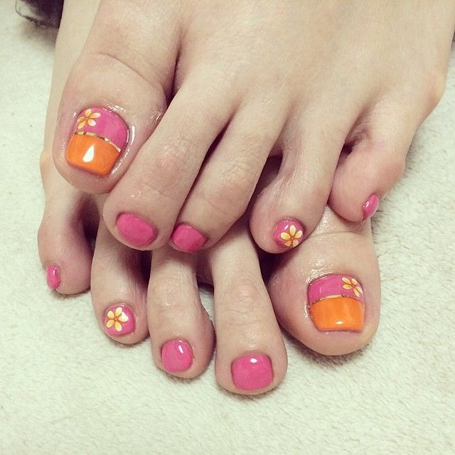 274 best toe nailart images on pinterest enamels nail designs 20 easy simple toe nail art designs ideas trends 2014 for beginners learners prinsesfo Choice Image