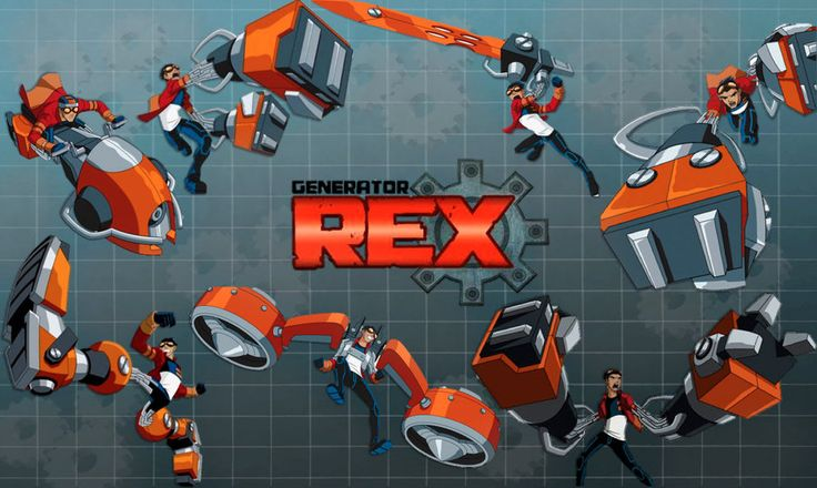 ☬ Generator Rex ☬ | My boy..like it..^^ | Pinterest | Generator ...