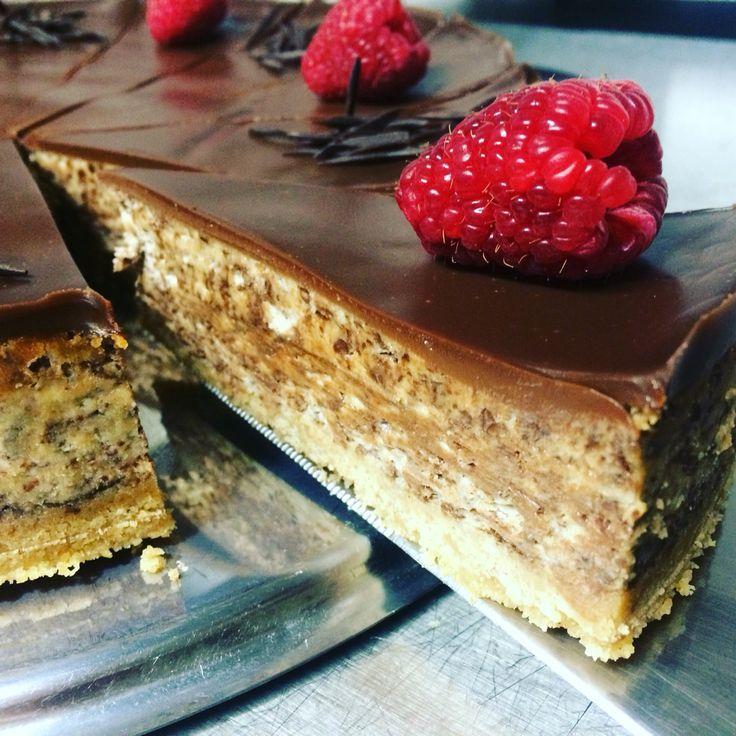 Cheesecake s kousky čokolády