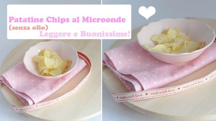 Patatine Chips al Microonde