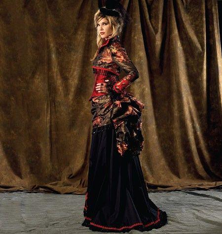 McCall's - M6911 naaipatroon Kostuum voor dames. Bolero, korset, korte en lange rok | Naaipatronen.nl | zelfmaakmode patroon online