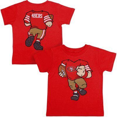 San Francisco 49ers Infant Cardinal Football Dreams T-Shirt