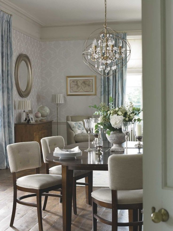 Ashley S Nest Decorating A Dining Room: 'Downton Abbey' Set Inspires Fabrics, Wallpapers