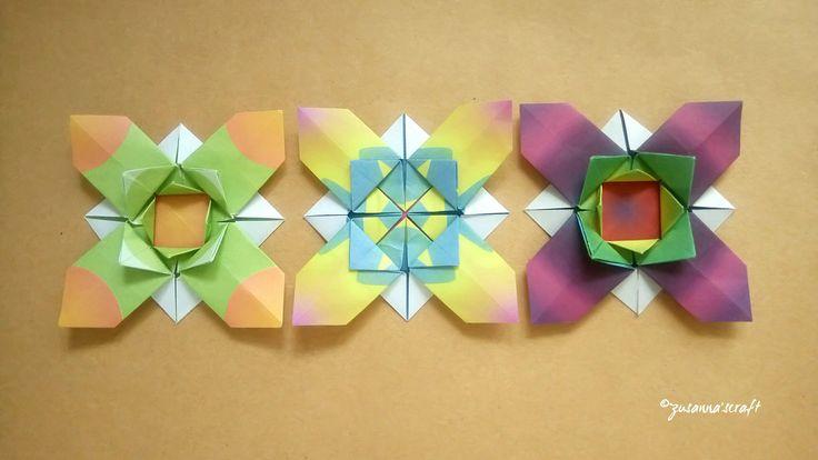 Flower X Designed by Ali Bahmani Folded by #zusannascraft