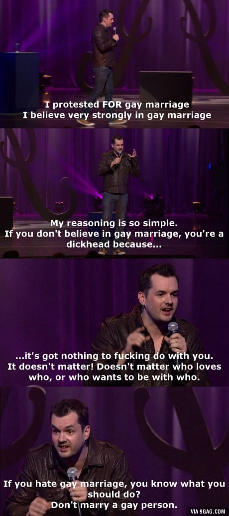 Jim Jefferies with some common sense.