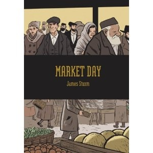 Market Day: A new graphic novel by James Turn.  The story recounts eventful 24 hours in the life of a rug-maker in eastern Europe in the early 1900s.