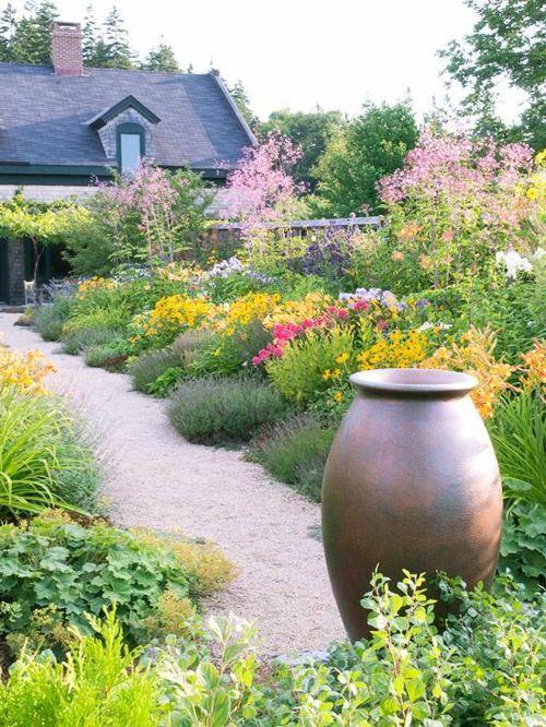 122 besten Garten ohne Rasen Bilder auf Pinterest Gärtnern - gartengestaltungsideen mit kies
