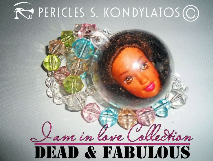 jewellery composed by doll compartments by Pericles Kondylatos