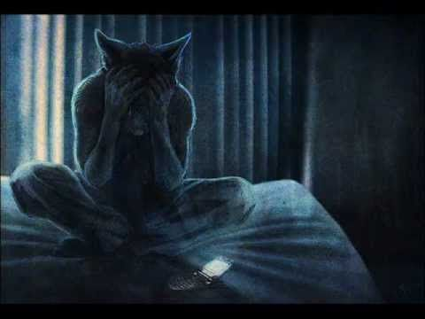 Depressed wolf drawing - photo#33