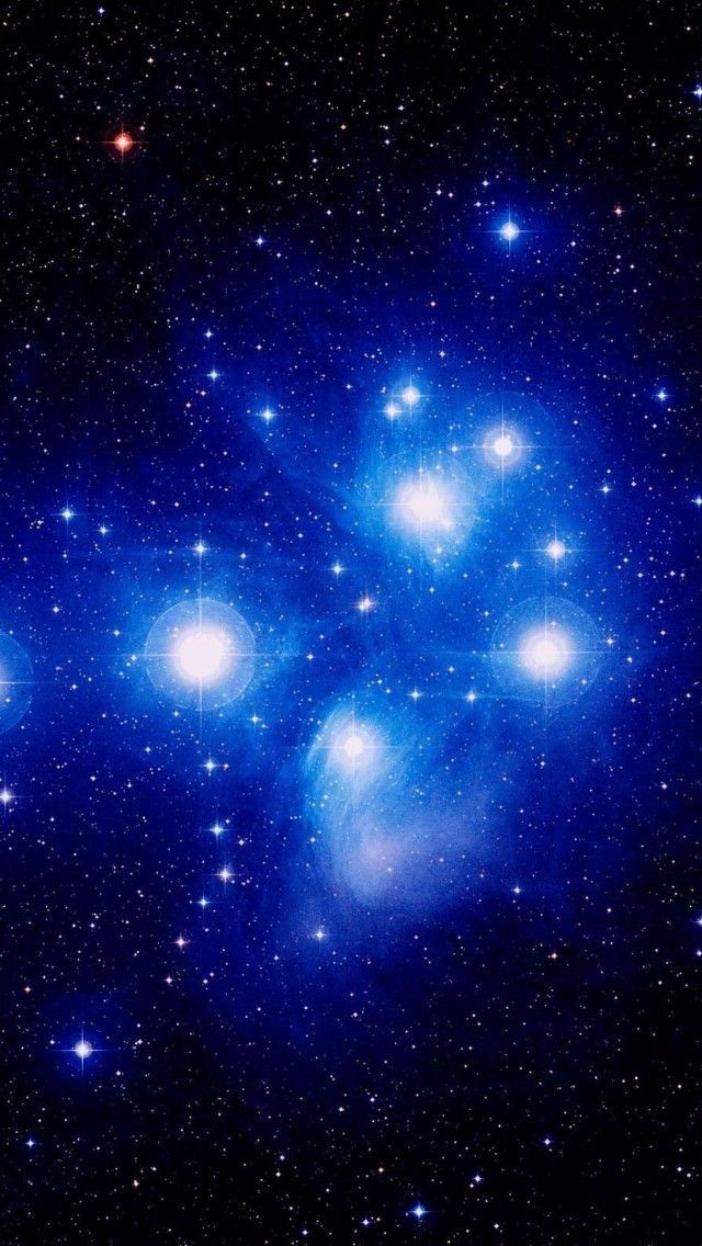 """The Seven Sisters"" (Or Pleiades) In The ""Taurus Constellation"""
