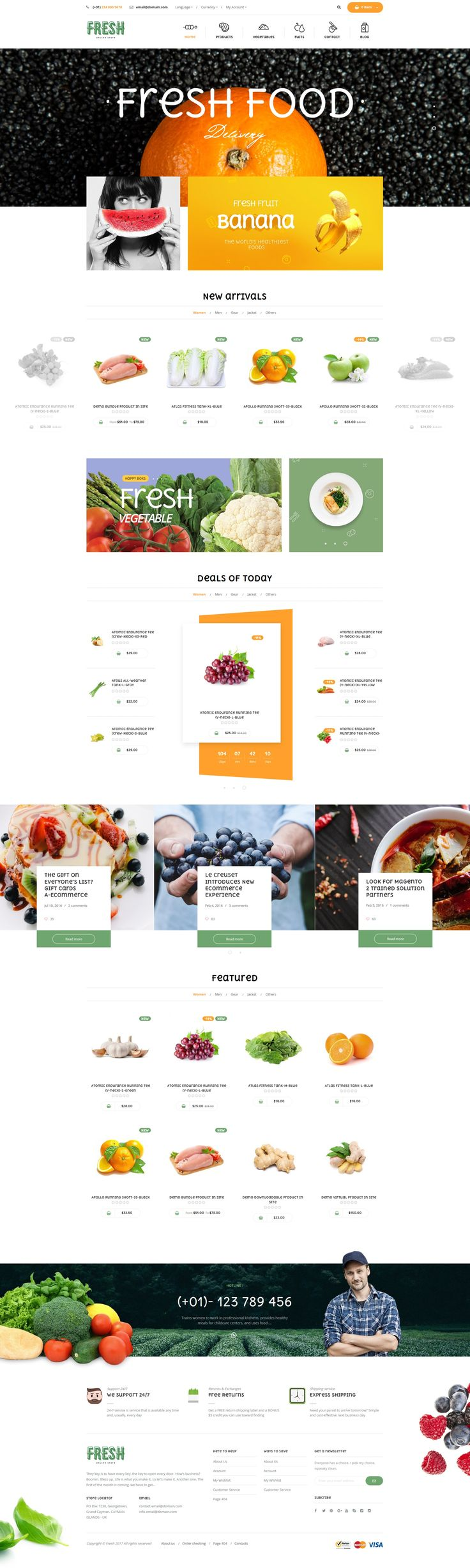 Fresh Magento 2 Template • Download ➝ https://themeforest.net/item/fresh-magento-2-template/17790831?ref=pxcr