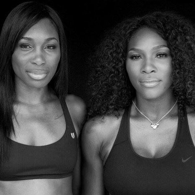 Pin for Later: 7 Reasons Serena Williams Is Our Favorite Tennis Player Even in victory, family comes first.