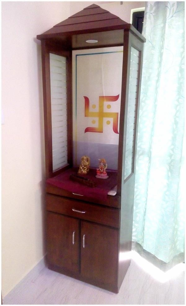 Image Result For Contemporary Pooja Unit Pooja Mandapum