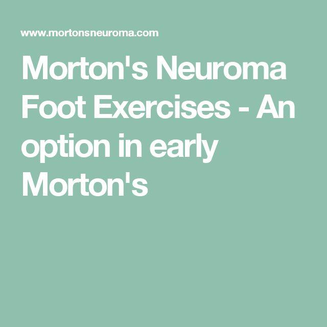 Morton S Neuroma Natural Treatment