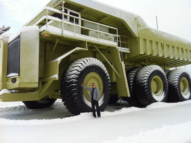 Replace the dumper with an apartment complex - then all the relatives can go off-road camping with you!