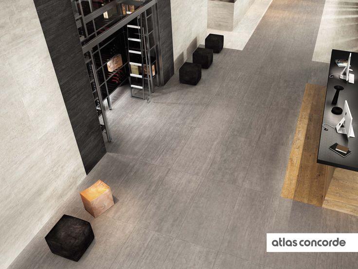 #MARK chrome | #Floor design | #AtlasConcorde | #Tiles | #Ceramic | #PorcelainTiles