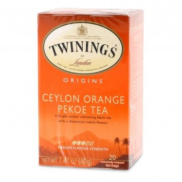 Twinings Ceylon Orange Pekoe Tea - 20 count