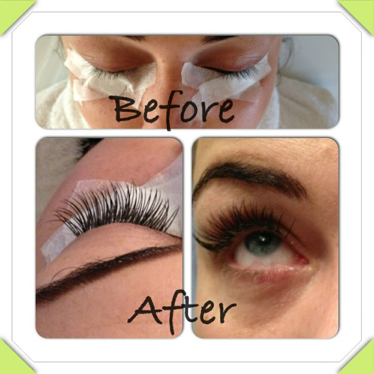 J curl semi permanent eyelashes | Lash extensions | Pinterest ...