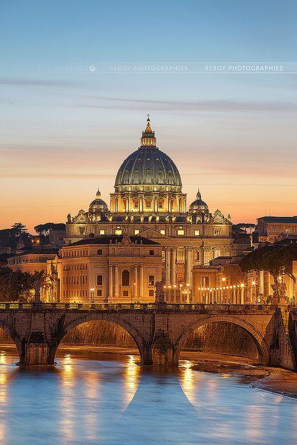 The Vatican...