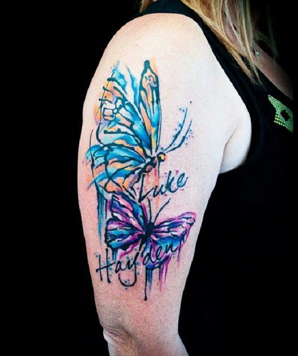 best 25 butterfly sleeve tattoo ideas on pinterest lily tattoo sleeve half sleeve tattoos. Black Bedroom Furniture Sets. Home Design Ideas