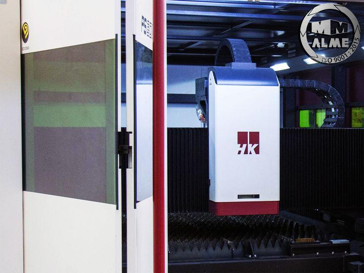 La nueva maquina HK de Corte láser alcanza una velocidad de corte de 24000 mm/seg. con una precisión increíble alme.com.mx