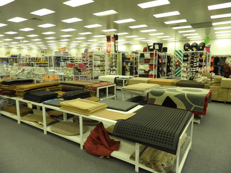 Lots of mats at the Seaford Cheap as Chips Store July 2010
