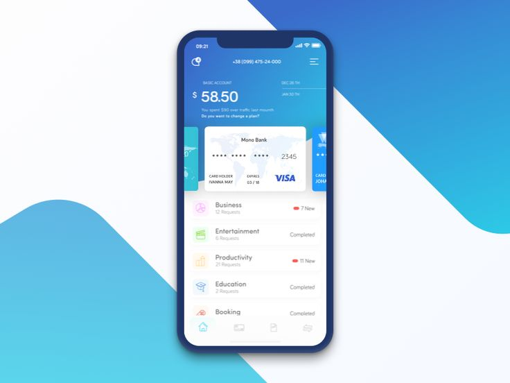 Hello everyone! The concept of the design for a project in the field of finance. A convenient tool for everyday use, control of your funds and planning of outlay. This is the last shot this ye...