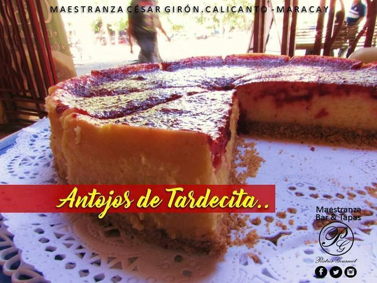 Tardes de café y postres deliciosos en la Maestranza César Girón con  @postresgourmet_vzla.  Antojos de tardecita con un café y alguien con quien conversar en la Maestranza César Girón. Urb. Calicanto.  Síguelos:  @postresgourmet_vzla. @postresgourmet_vzla. @postresgourmet_vzla.  #publicidad @publiciudadmcy.  #restaurante #maestranzabarytapas #postresgourmetvzla #chef #juancarlosacosta #cheesecake #tortas #pasteles #postres #delicias #antojos #detardecita #conversando #amigo #pareja #amigas…