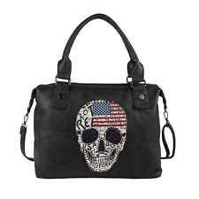 Calavera bolso xxl EE. UU. bandera Shopper pedrería bandolera viaje de vacaciones: 29,90 EUREnd Date: 24-ago 10:27Buy It Now for only: US…