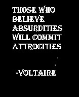 Voltaire: Quotations Mark, Quotation Marks