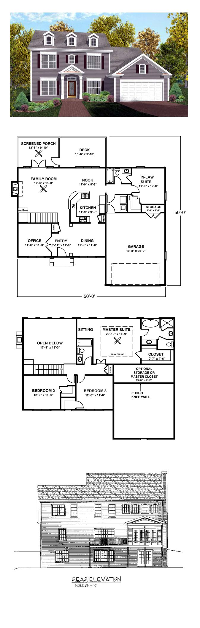 17 Best Images About House Plans With In Law Suites On