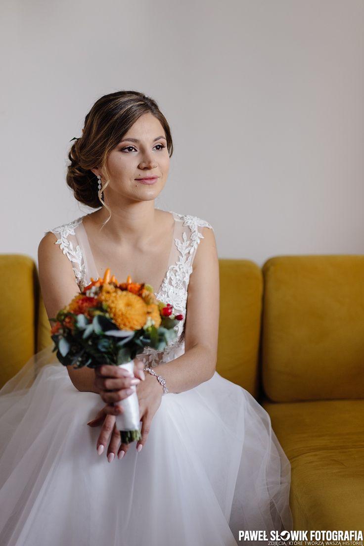 w oczekiwaniu na Pana Młodego... wolny czas przed przybyciem Pana Młodego do domu Panny Młodej warto wykorzystać na zrobienie pięknego portretu :)