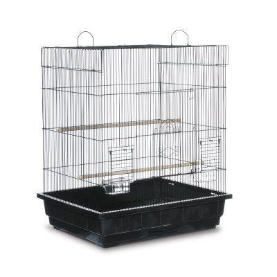Prevue Pet Products Square Top Cockatiel Cage Black - SP25212B/B, Durable