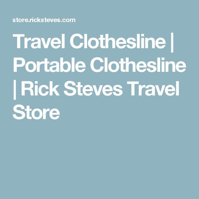 Travel Clothesline   Portable Clothesline   Rick Steves Travel Store