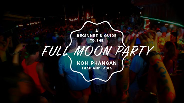 Opinions vary greatly on the subject of the Full Moon Party but whether you hear positive or negative feedback there is no denying that it's something to cross off your list of things to...