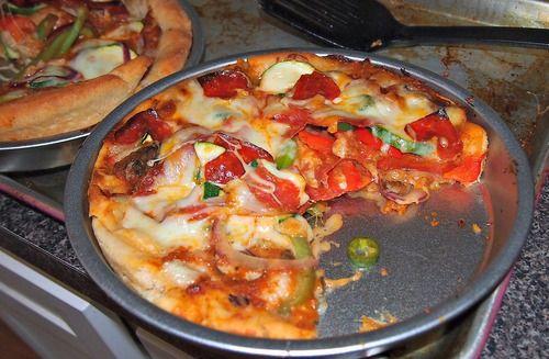 Copy Cat Recipe: Pizza Hut Pan Pizza!