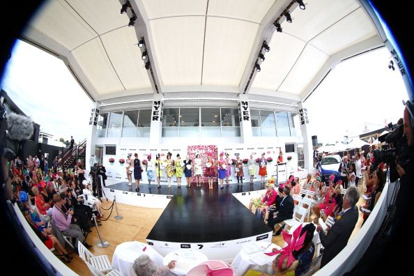 Crown Oaks Day Myer Fashions on the Field