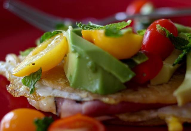 High protein tortilla omelette! | What's for breakfast | Pinterest