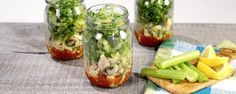 Layered Crab (or Shrimp) Cocktail Salad from Carla Hall of The Chew.  Don't miss out on one of the tastiest dishes to bring on your beach picnic!