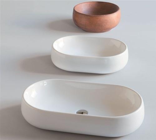 Nuvola Washbasins by Angeletti Ruzza Design for Azzurra Ceramica.