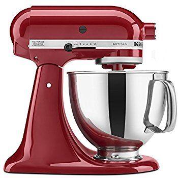 Amazon.com: KitchenAid Professional Series 600 KP26M1XER Bowl-Lift Stand Mixer, 6 Quart, Empire Red: Elektromos álló mixerek: Konyha és ebédlő